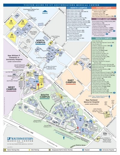 Campus Map   UT Southwestern