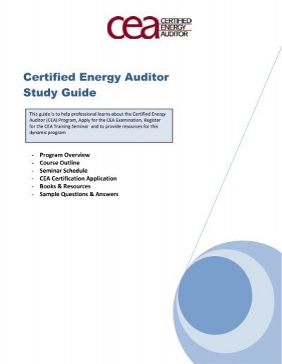 certified energy auditor study guide association of energy rh yumpu com Infrared Energy Infrared Energy
