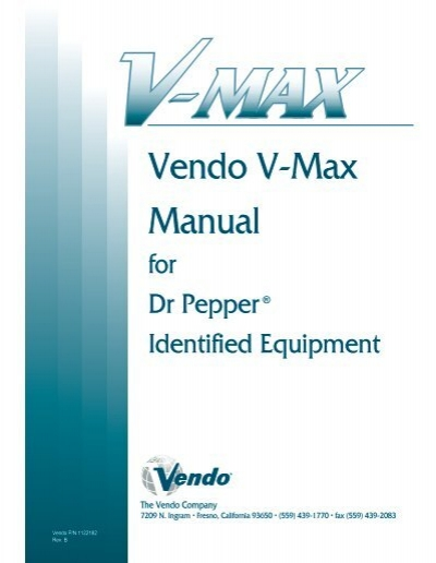 v max dr pepper manual (whole) vendo  wiring diagram vendo 39 #11