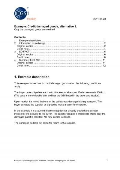 credit damaged goods alternative 1 pdf gs1