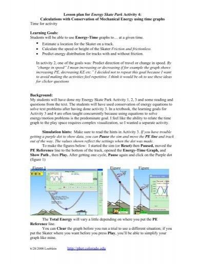 Energy Skate Park - Activity - www.teachengineering.org