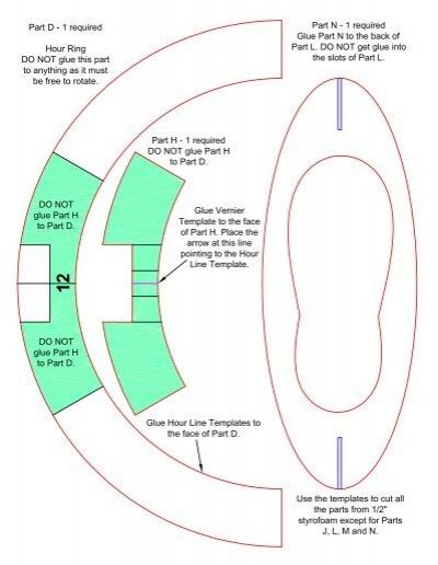 Standard Time Equatorial Ring Sundial Kit - \