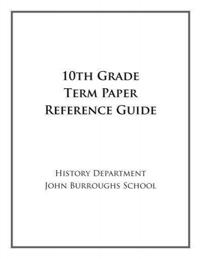 erau term paper guide This handout provides detailed information about how to write research papers including discussing research papers as a genre, choosing topics, and finding sources.