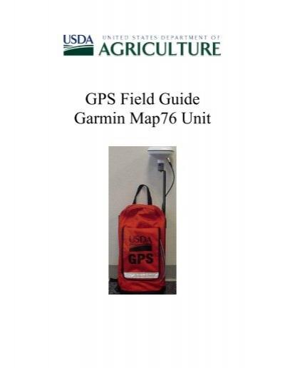 gps field guide garmin map76 unit massachusetts nrcs rh yumpu com Garmin GPSMAP 76 MapSource Map Garmin Hunting GPS Units