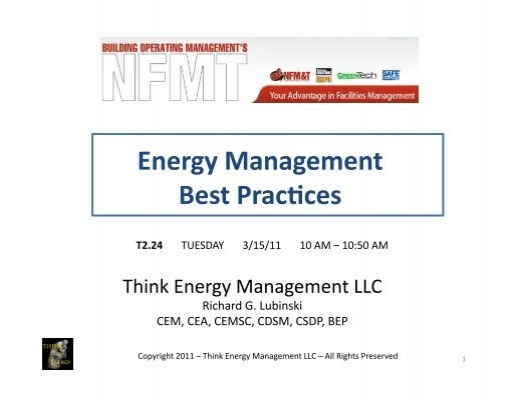 energy management principle and practice Green principles and practices and the modular building industry overview 1 the very similar building design principle energy management 4 material use 5 indoor environmental air quality 6 innovation & design process.