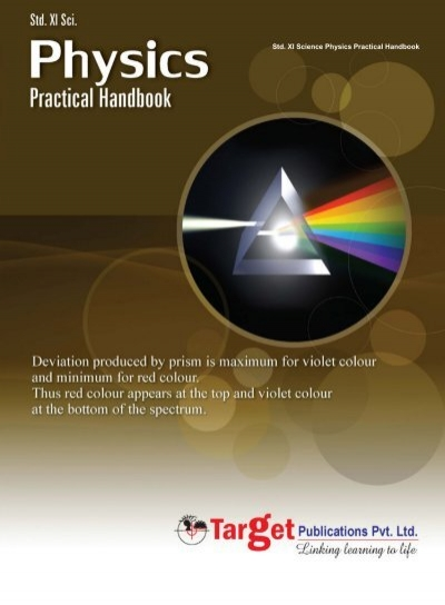 Physics Practical Handbook: Std  11 Science - Target