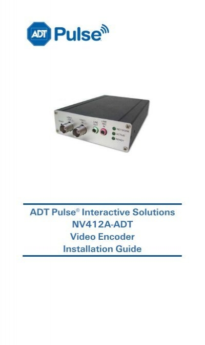 ADT Pulse Wifi Range Extender - Zions Security - ADT ...