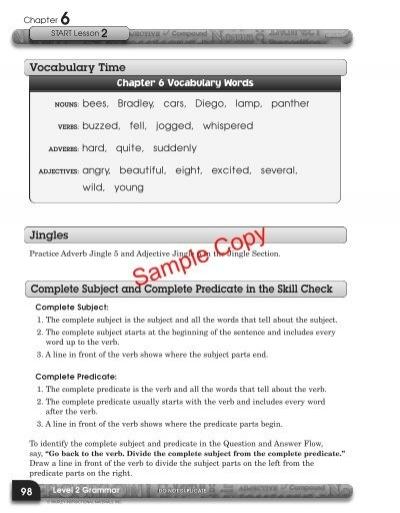 L2 shurley grammar student workbook shurley english fandeluxe Choice Image