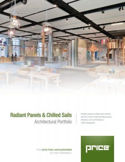 Radiant Panels & Chilled Sails Architectural Portfolio
