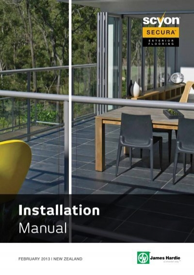 Installation Manual James Hardie