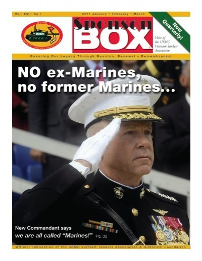 2011 1st Issue Usmc Vietnam Tankers Association