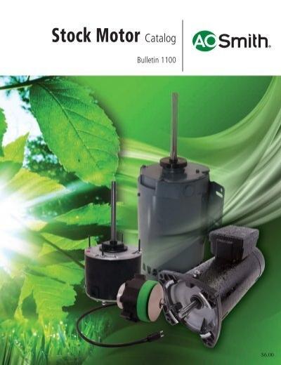 993 1//10 HP 1550 RPM NEW AO SMITH MOTOR