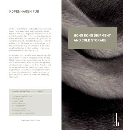 sc 1 st  Yumpu & hong kong shipment and cold storage kopenhagen Fur