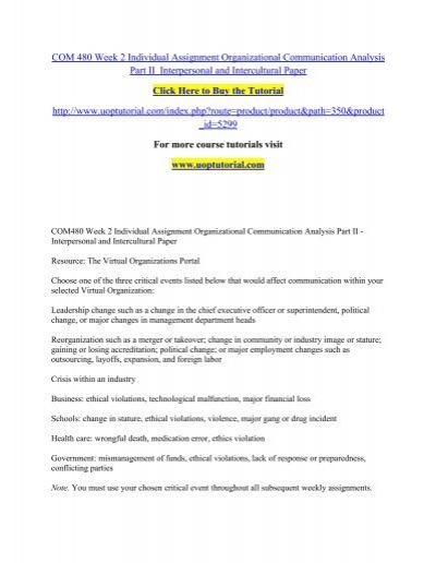 interpersonal communication assignments Printable copy of this assignment interpersonal communication experiment journal papers you will conduct 5 communication experiments using techniques and ides discussed in class or in your text.