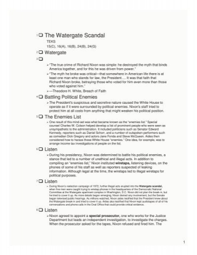 Thesis statement on the watergate scandal xml resume library ubuntu