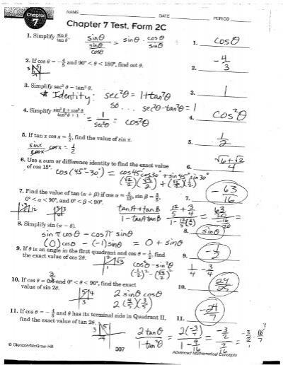 Chapter 3 Test, Form 2C - rSchoolToday