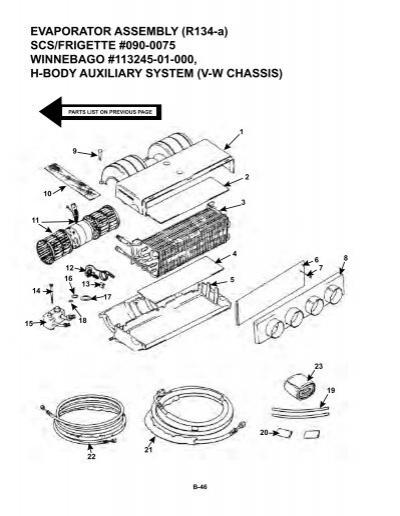 Evaporator Assembly R134