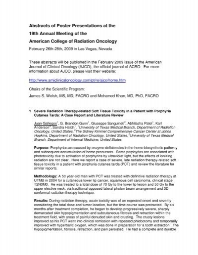 American Journal Of Cancer Case Reports