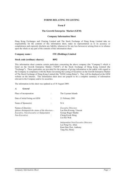Listing Agreement Form F 1 35 The Issuer Company Agrees Nse