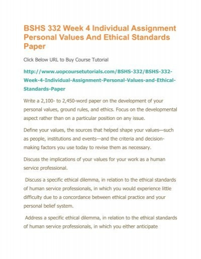 personal values short assignment for ethics Get the best hnd assignment help support in unit 4 personal professional development in hsc assignment  setting the personal short term  values and ethics.