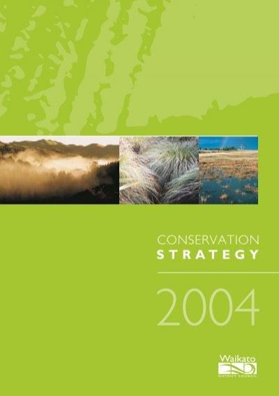 Nz biodiversity strategy 2000