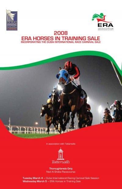 2008 Era Horses In Training Sale Tattersalls