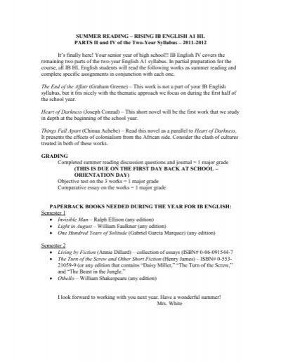Grade 9 summer reading essay premium assignment login