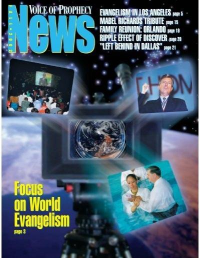 Pastoe Fibre Tv Kast.Vop News Fall 2002 Voice Of Prophecy