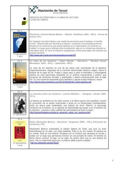 Servicio De Préstamo A Clubes De Lectura Lotes De Libros