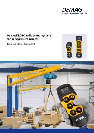 [DIAGRAM_5FD]  Demag DRC-DC radio control systems for Demag DC chain hoists | Demag Drc Dc Wiring Diagram |  | Yumpu