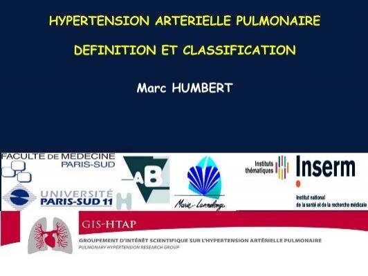 hypertension arterielle pulmonaire definition et classification