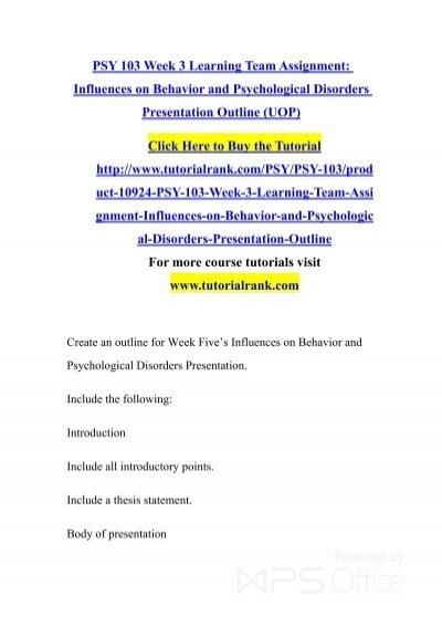 outline the behaviorist and biological model