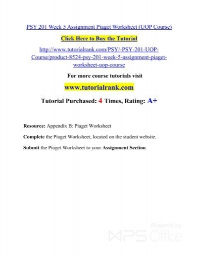 PSY 201 Week 5 Assignment Piaget Worksheet (UOP Course).pdf