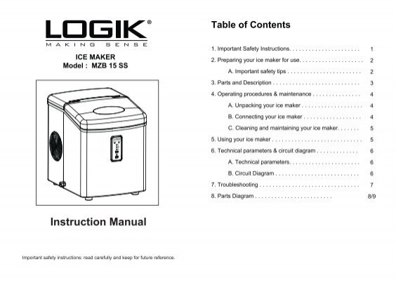 Manual Cover Page Hic Hzb 15 Sa