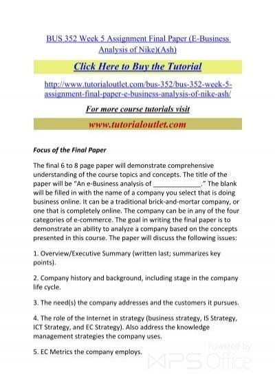 nike company history summary