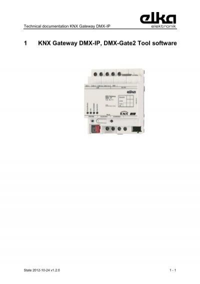 4 knx gateway dmx ip 4 1 operation modes. Black Bedroom Furniture Sets. Home Design Ideas