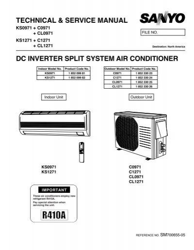 12ks71 12kls71 service manual sanyo rh yumpu com Sanyo TV Repair Sanyo Batteries