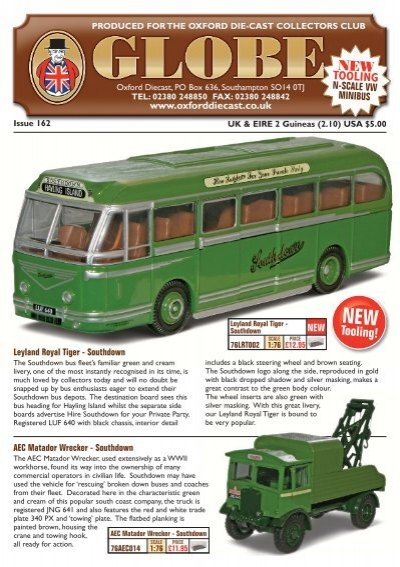 76AM002 Oxford Diecast 1:76 Scale Newcastle AEC Mercury TL