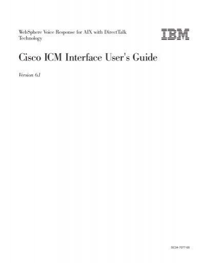 ibm cognos icm user guide