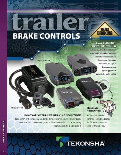 12 pack Tekonsha 3015-S-012 Brake Control Wiring Adapter