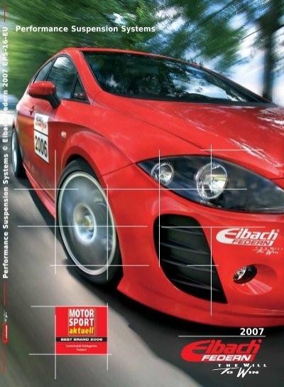 Eibach Pro-Kit Federn für AUDI E10-15-003-06-22 Fahrwerk Tuning Tieferlegung