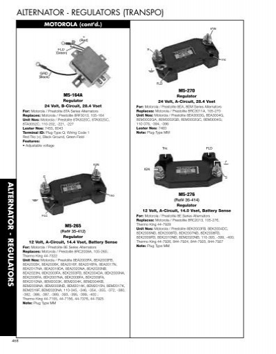Motorola Marine Alternator Wiring Diagram : Leece neville amp alternator wiring high output