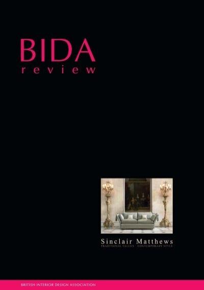Bida Review September 2005 British Institute Of Interior Design