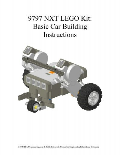 9797 Nxt Lego Kit Basic Car Building Instructions