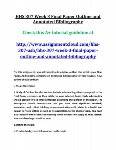 annotated bibliography of selected momentum research papers This handout provides information about annotated bibliographies in mla, apa every good research paper is an argument the purpose of research is to state and.
