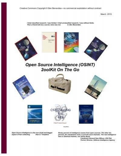 Ancor Coalition Urge Fda To Act On Banning Electronic Shock >> Open Source Intelligence Osint 2oolkit On The Go