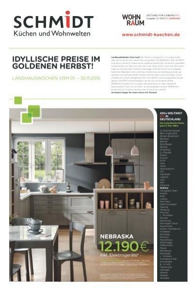 aktion schmidt k chen koblenz landhauswochen. Black Bedroom Furniture Sets. Home Design Ideas