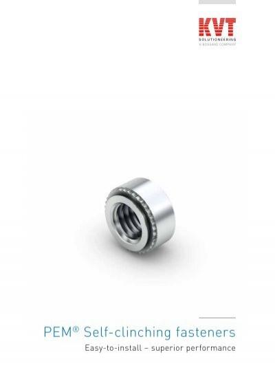 Metric Type F Pemsert Self-Clinching Flush Fasteners F-M5-2