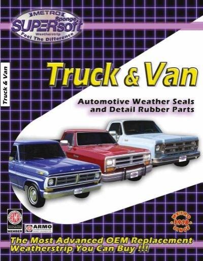Lower Door Rubber Weatherstrip Seal for Dodge Truck 55-60 Pick Up Pair