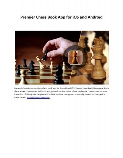 Premier Chess Book App For Ios And Android
